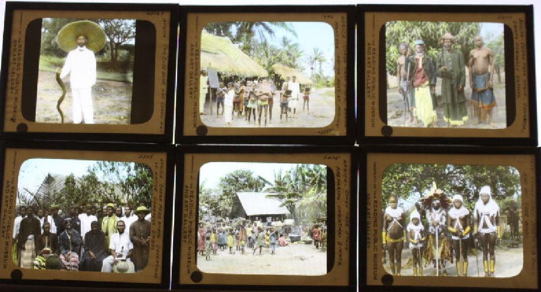 12 Lantern Slides - Africa/congo