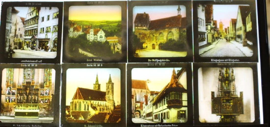 32 Lantern Slides - Gifted by Dr. Livingood