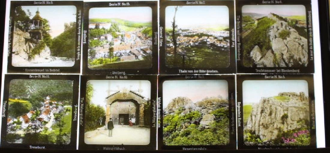 30 Lantern Slides - Gifted by Dr. Livingood