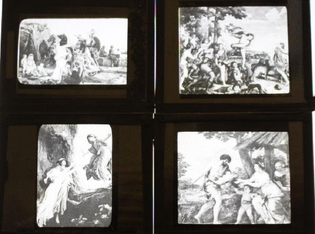 59 Lantern Slides - Famous Artwork / Paintings