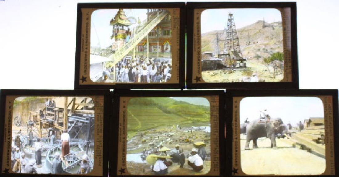 15 Lantern Slides - Burma