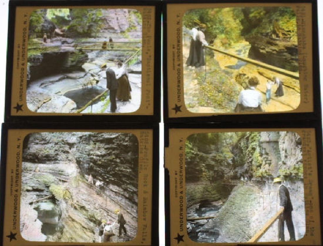 10Lantern Slides - New York/ Watkins Glen