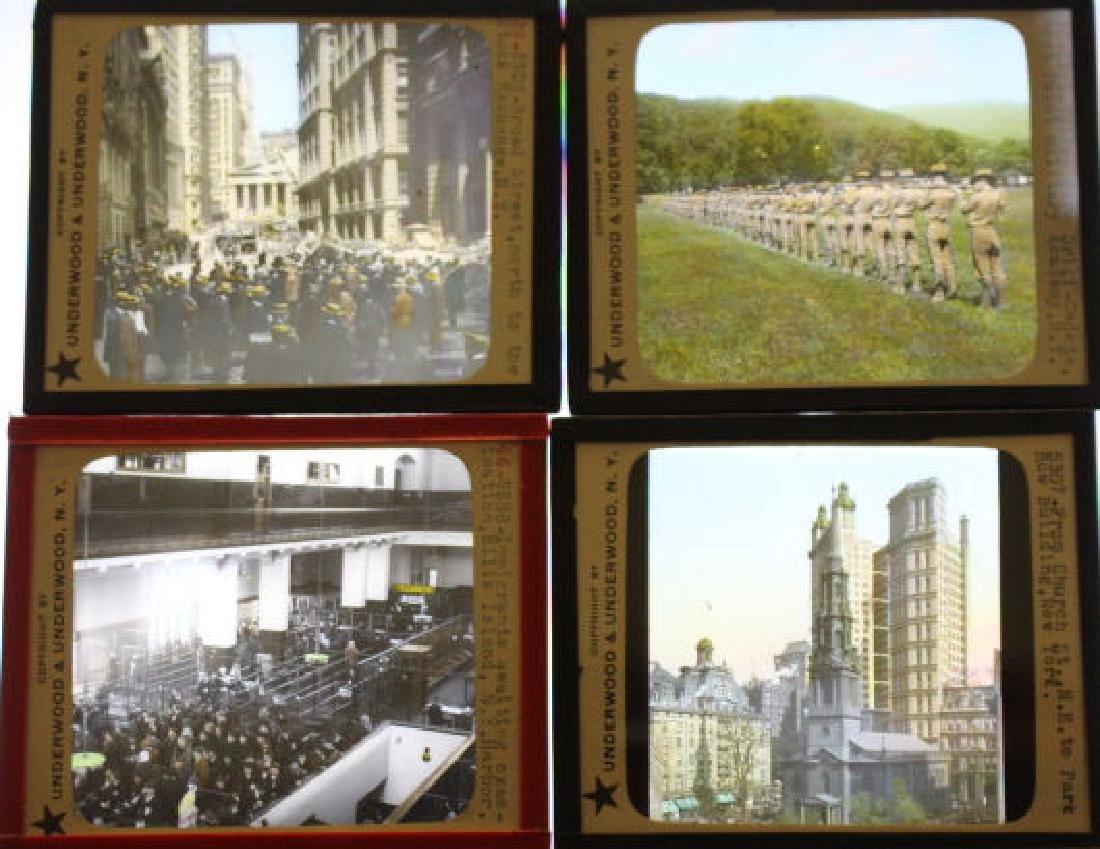20 Lantern Slides - New York City