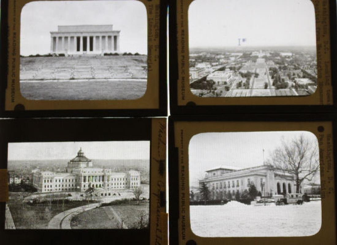 7 Lantern Slides - Washington DC