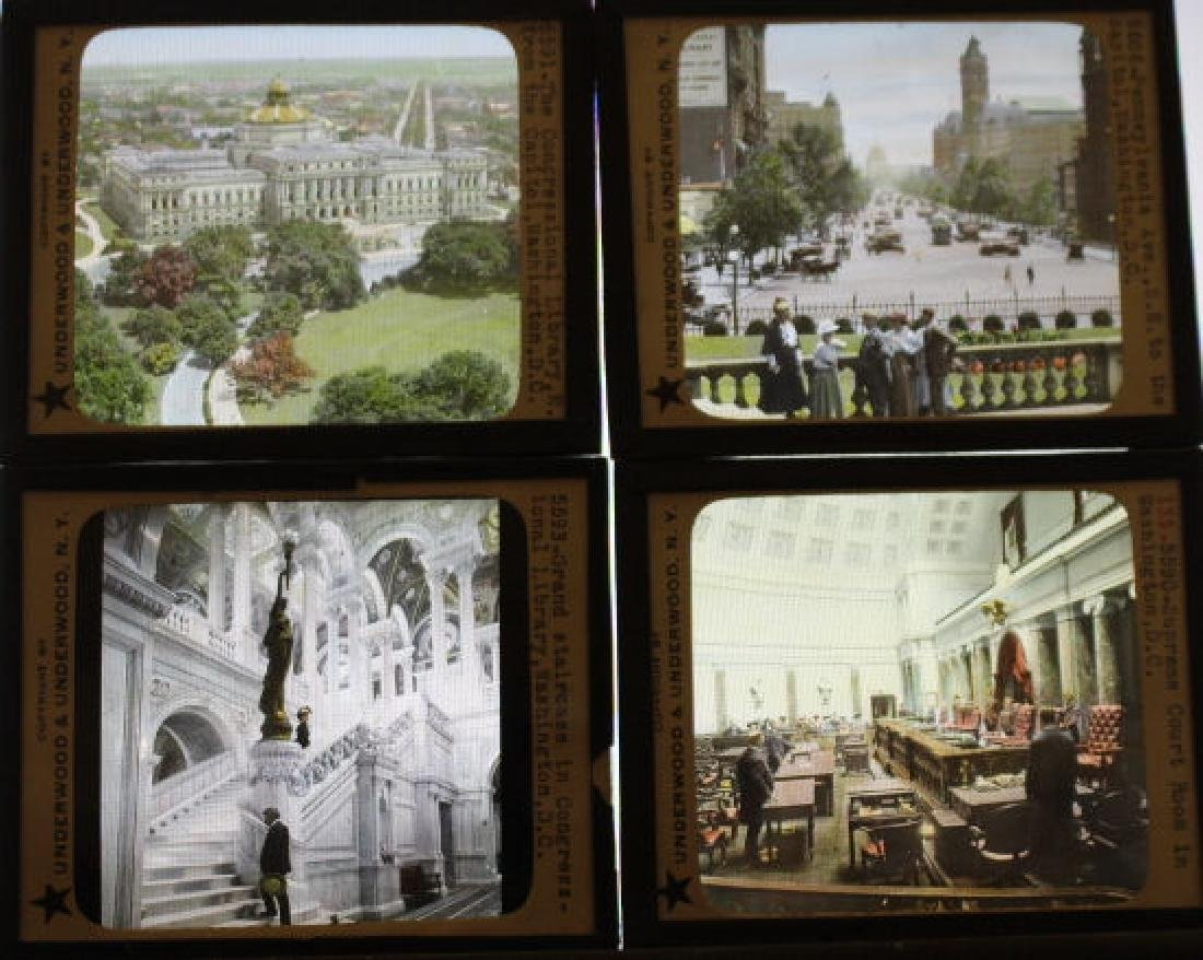16 Lantern Slides - Washington DC