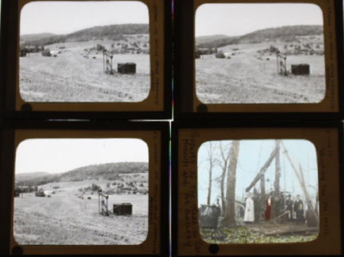 26 Lantern Slides - Pennsylvania Oil Industry