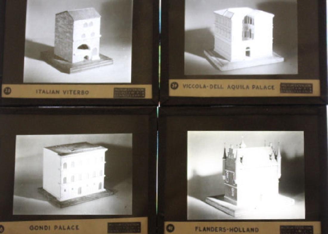 47 Lantern Slides - Architectual Home Models WPA