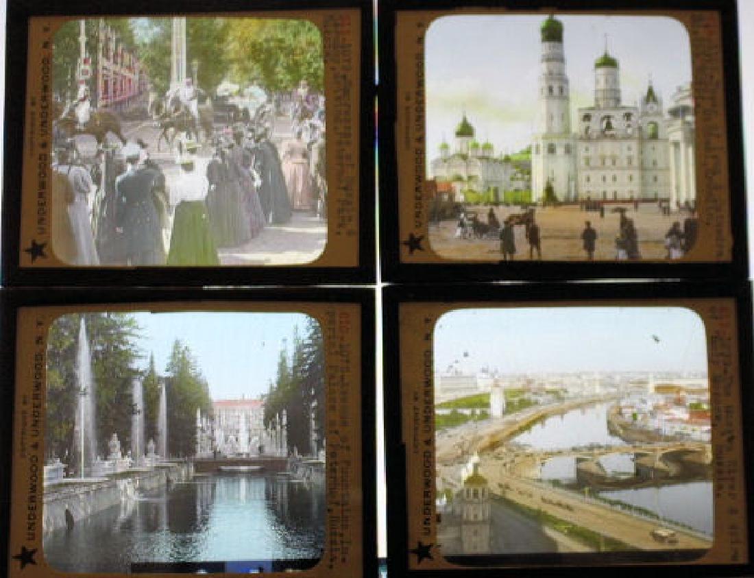 12 Lantern Slides - Russia