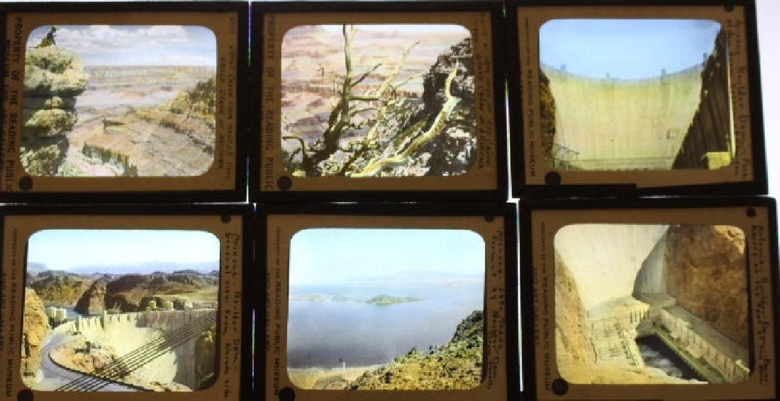 7 Lantern Slides - Boulder Dam
