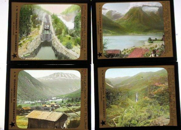 19 Lantern Slides - Norway