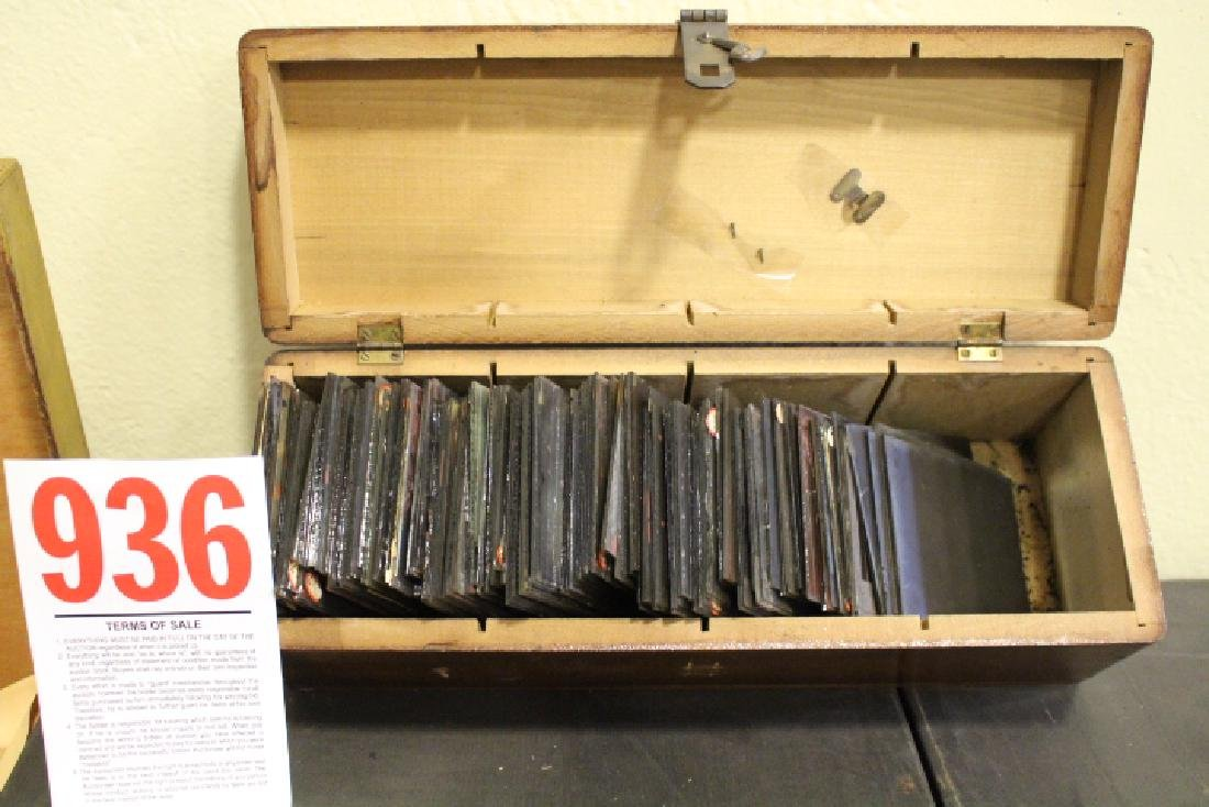 80 Lantern Slide Negatives
