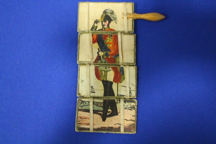 Signed Miniature Painting of Napoleon Wearing Hat - 4