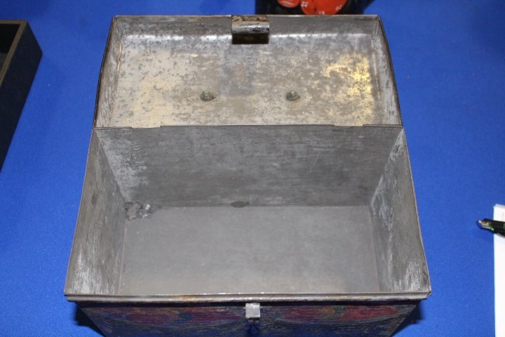 19th C Toleware Document Box & Canister - 3
