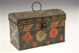 19th C Toleware Document Box