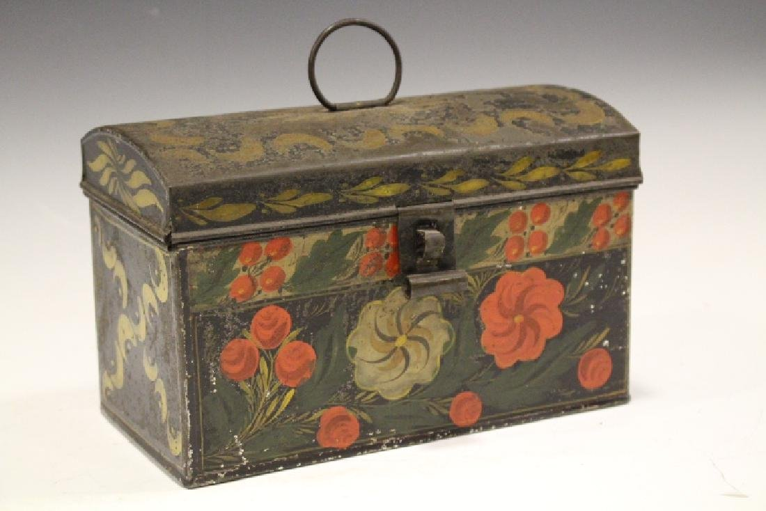 19th C Toleware Document Box