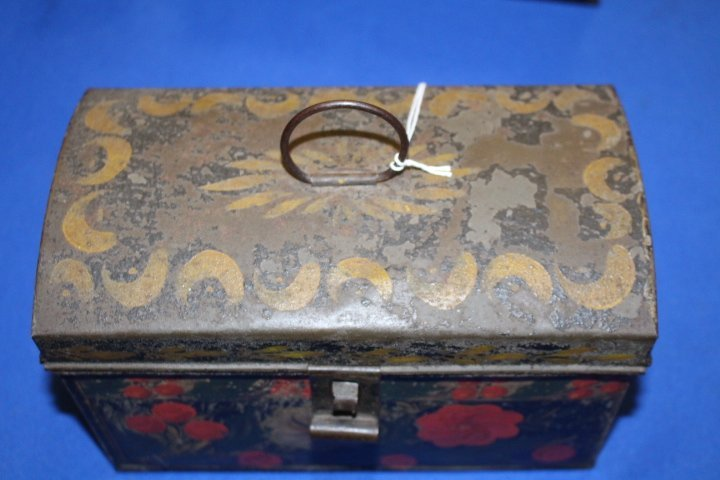 19th C Toleware Document Box - 3