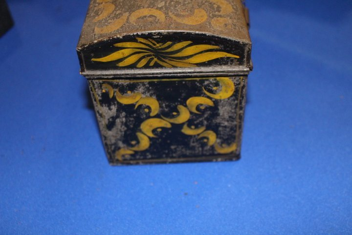 19th C Toleware Document Box - 5