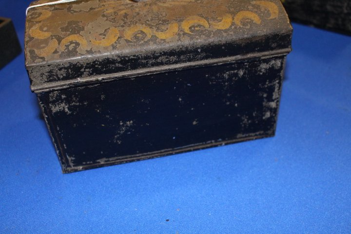 19th C Toleware Document Box - 6