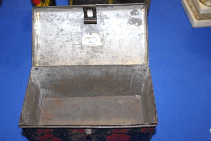 19th C Toleware Document Box - 7
