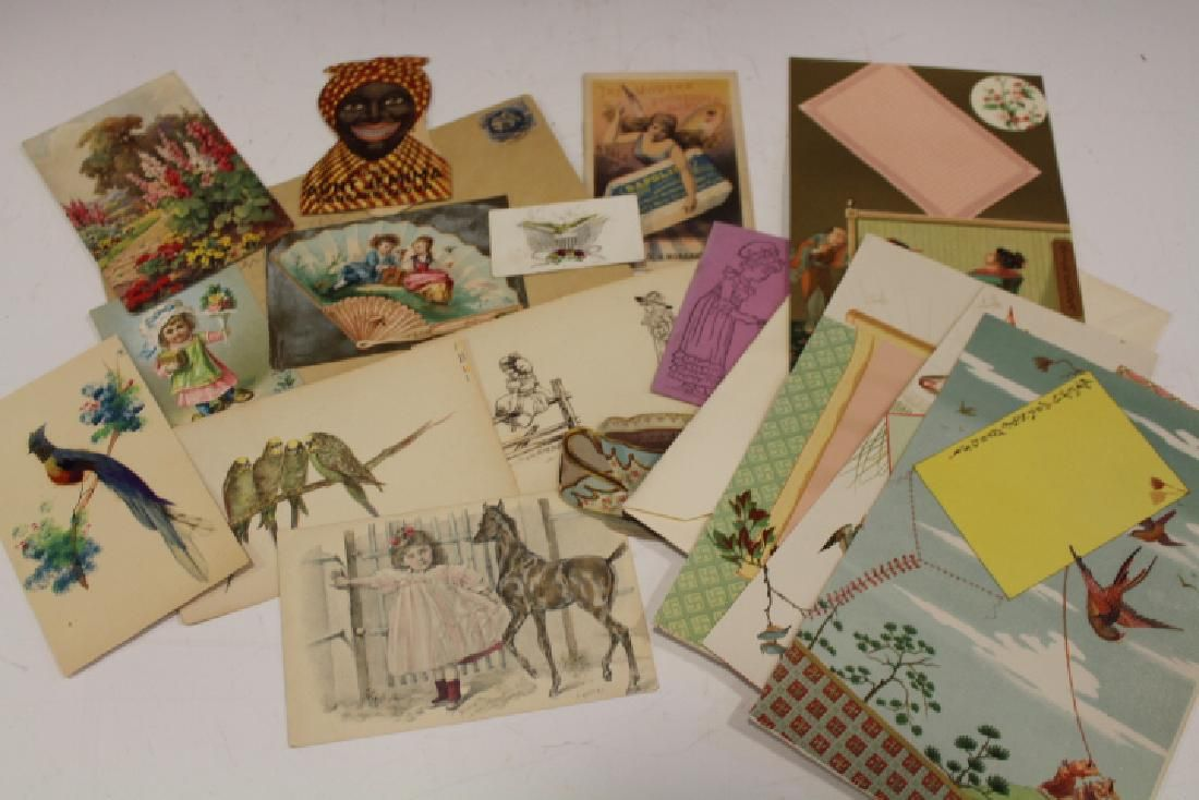 Group of Trade Cards & Other Ephemeral