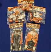 Halloween Diecut Decorations  NOS Original Packaging