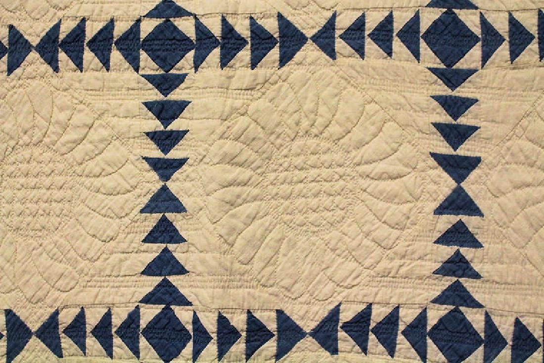 Wild Goose Chase Antique Quilt 1942 Quilter Identified - 2