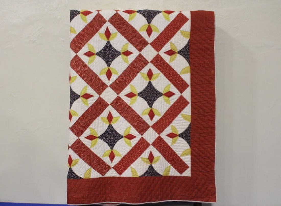 Very Large 99 x 108 Inch Antique Quilt