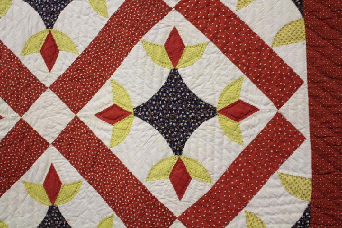 Very Large 99 x 108 Inch Antique Quilt - 2