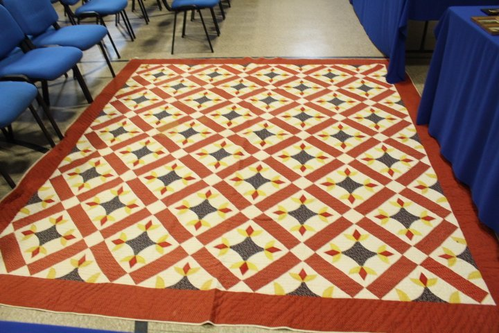 Very Large 99 x 108 Inch Antique Quilt - 5