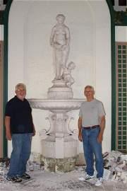 Rare Monumental 1800s J. J. Ducel Fountain