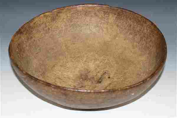 18th-19th Century Burl Bowl
