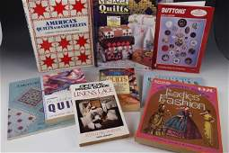 Group of Quilt  Fabric Related Reference Books