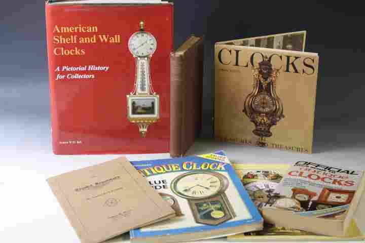 Group of Clock Related Reference Books