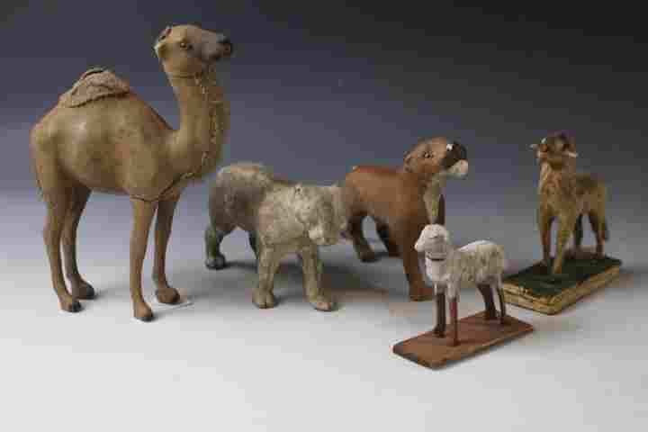 Stick Leg Putz Animals - Tall Camel, Others