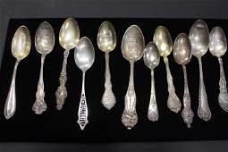 Antique Souvenir Spoons St Louis & Mid-West Cities
