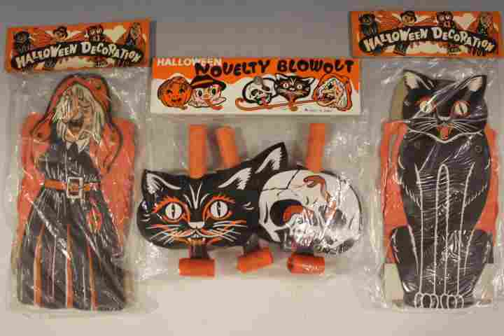 Halloween Diecuts & Blow-Outs, Unopened