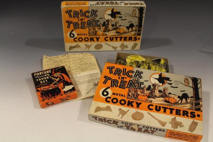 Halloween Cookie Cutters & Cake Hidden Treats