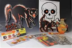 Group of Halloween Die Cuts & More