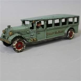 All Original Hubley Coast to Coast Bus w/ Driver