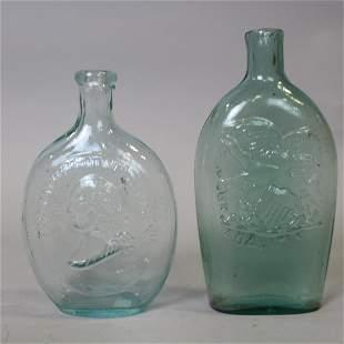 Washington / Taylor & Eagle / Dyottville Flasks
