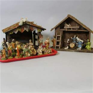 Nativity Scene Stables & Figures