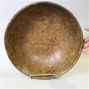 Ash Burl Bowl w/ Rings