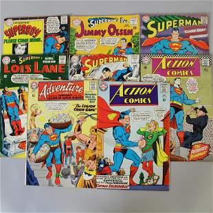 DC Comic Books Superman 12 Cents 1967-68