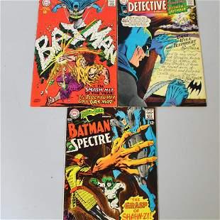 DC Comic Books Batman 12 Cents 1967