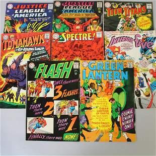 DC Comic Books Super Heroes 12 Cents 1967-68