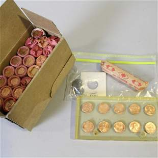 1979 Boxed Pennies & Roll 1943 Steel Uncirculated