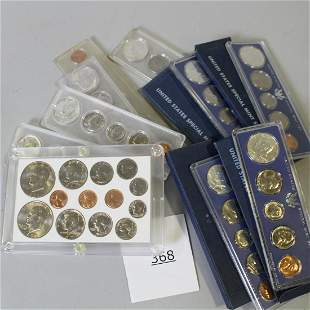 US Special Mint Sets - 1966 & 67 Kennedy & Others