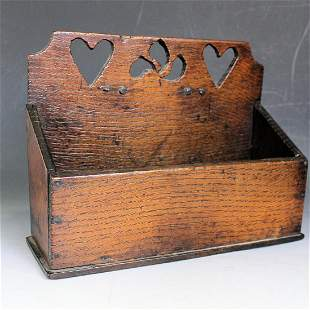 Heart Decorated Wedding Wall Box