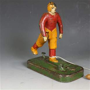 Woolsey No. 21 Mechanical Football Kicker Toy