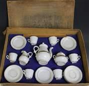 19th C Victorian Child's German Porcelain Tea Set